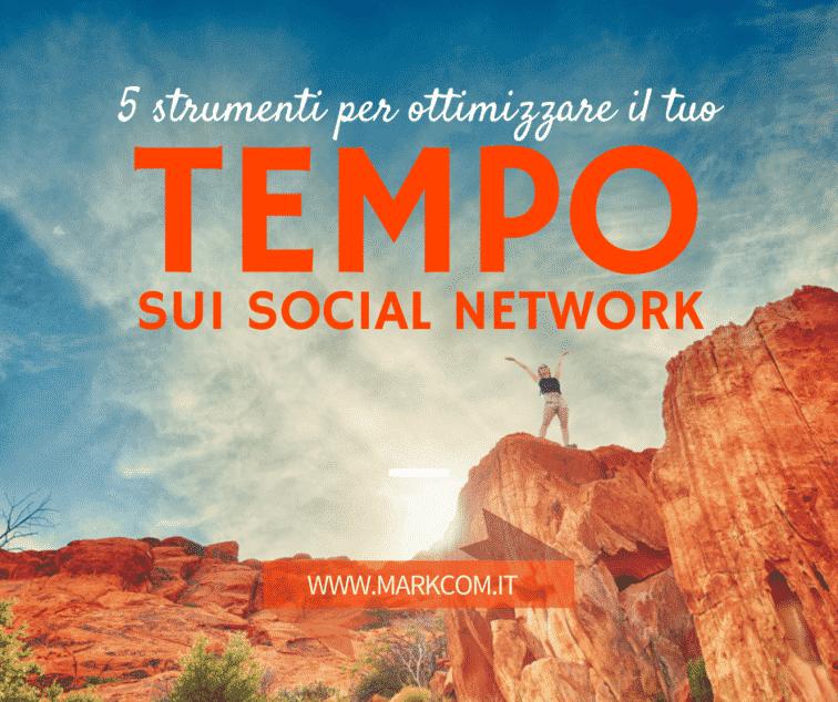 ottimizzare il tempo sui social network