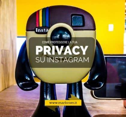 Come proteggere la tua privacy su Instagram