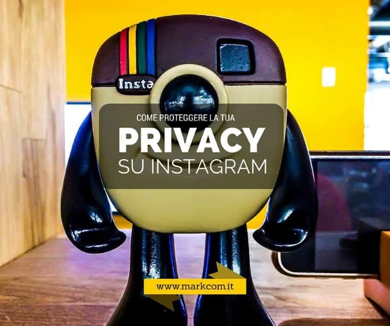 Privacy su Instagram