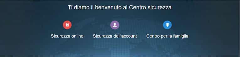 Centro per la sicurezza e protezione della privacy su LinkedIn