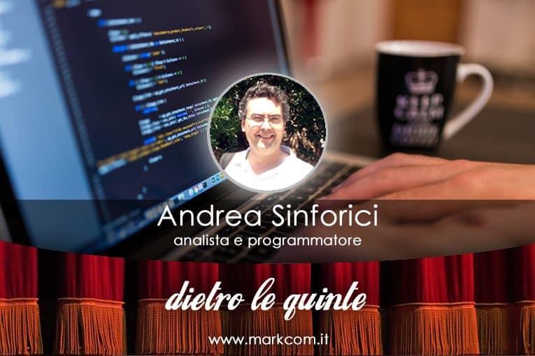 Intervista ad Andrea Sinforici, analista e programmatore
