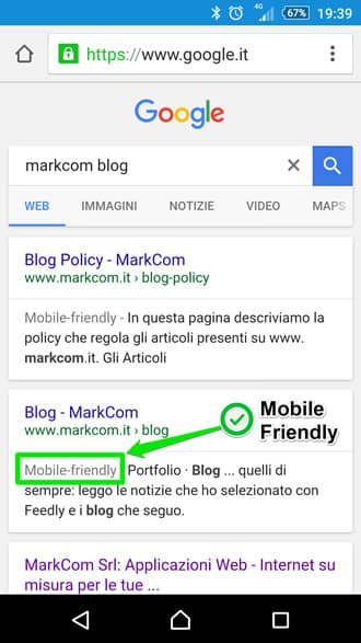 Aumentare visite sito con mobile friendly