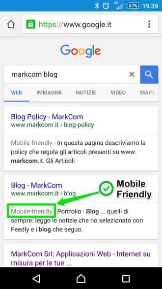 Aumentare visite sito con mobile friendly