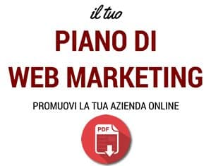 Scarica il piano di Web Marketing