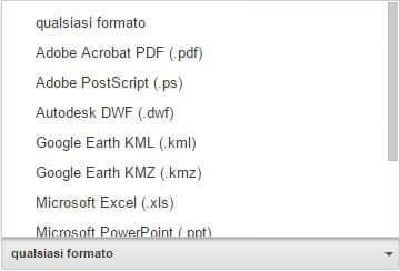 Come cercare con Google per tipo di file