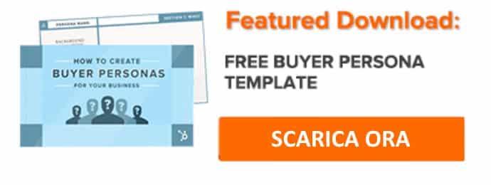 Modello gratuito per generare buyer persona