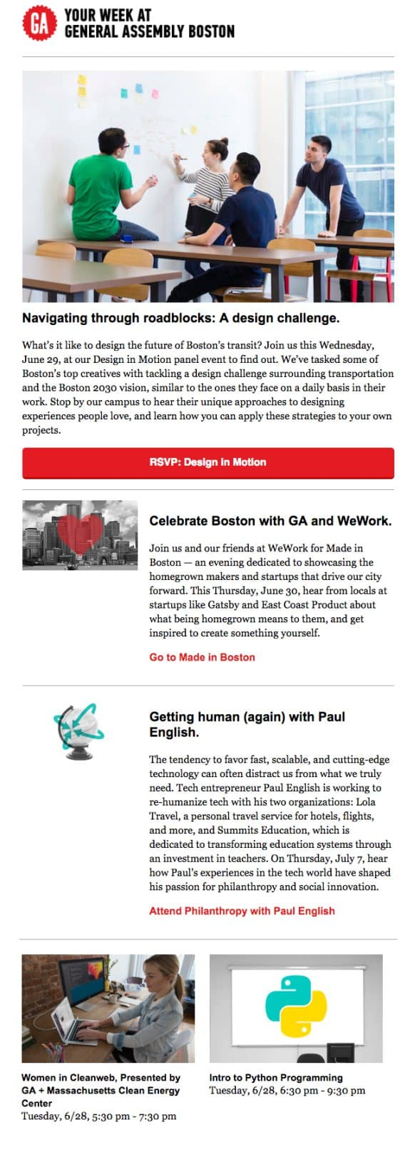newsletter per aziende