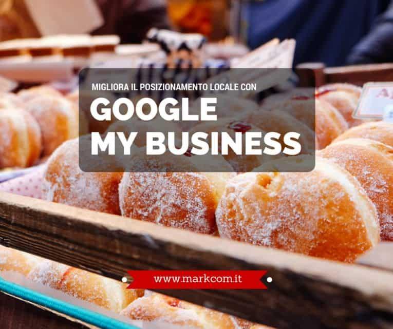 Posizionamento locale con Google My Business