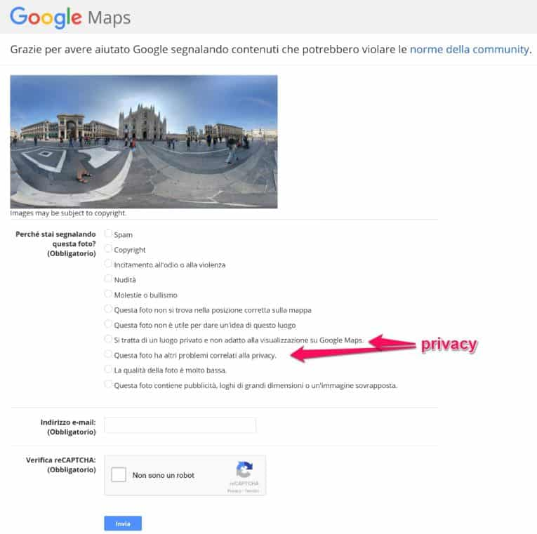 proteggere-privacy-google-google-maps