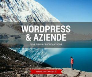 WordPress per le aziende: temi, plugin, buone abitudini