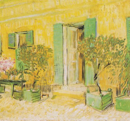 Van Gogh - Entrance of a restaurant in Asnieres