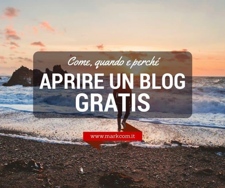 Come quando e perché aprire un blog gratis