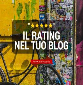 Come inserire le stelle di valutazione (rating) sul tuo blog