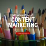 Content marketing per blog: 20 strumenti decisivi