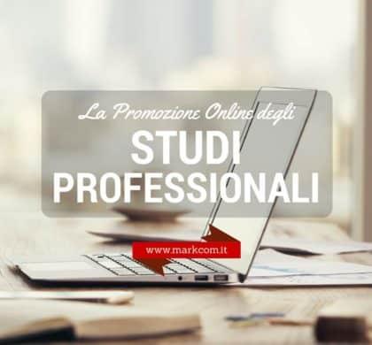 La promozione online dello Studio professionale