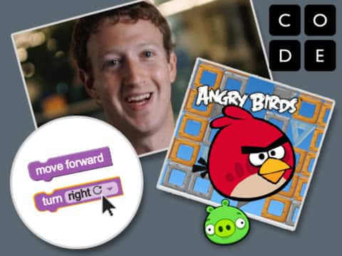 Angry Birds for Hour of Code