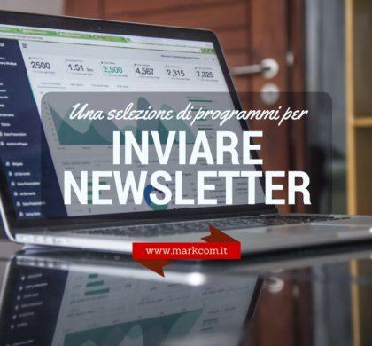 I migliori programmi (secondo me) per inviare newsletter