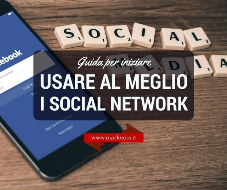 Guida per iniziare a usare i social network