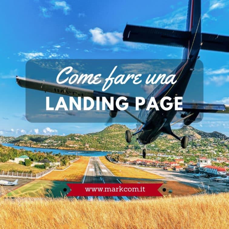 Landing page per siti aziendali